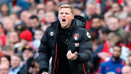 Holding out: Eddie Howe has seemingly stalled on deciding whether to take up the Celtic reins