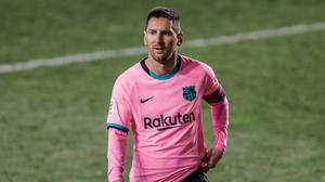 Lionel Messi's contract appears to have been made public (Manu Fernandez/AP)