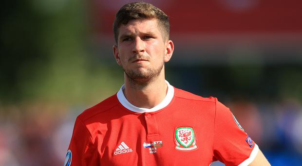 Chris Mepham will miss Wales' Euro 2020 qualifiers against Slovakia and Croatia (Adam Davy/PA)