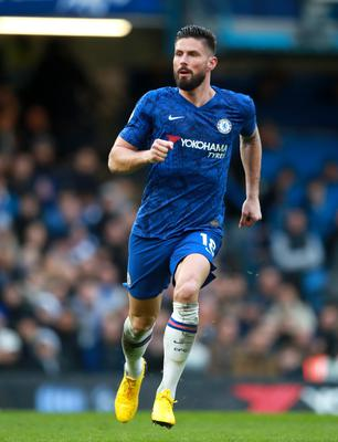Chelsea's Olivier Giroud is believed to be chasing a move to Inter Milan (Adam Davy/PA)