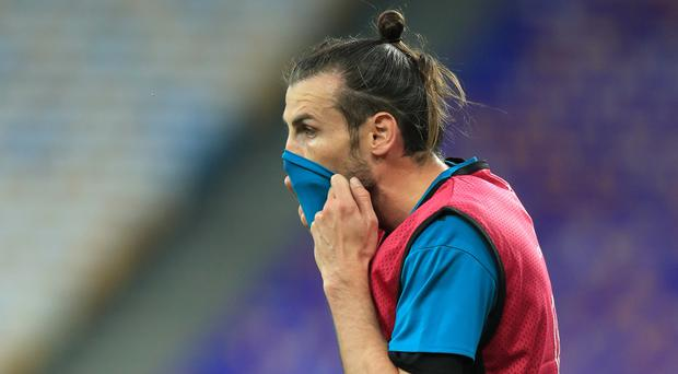 Gareth Bale was absent for Real Madrid (Mike Egerton/PA)