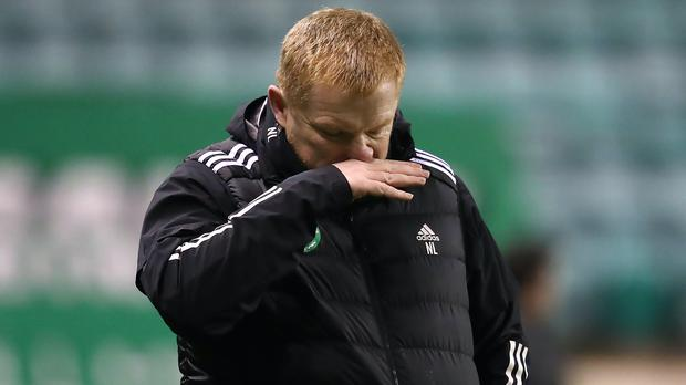 Neil Lennon says he has the backing of the Celtic board (Andrew Milligan/PA)