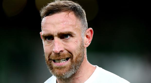 Richard Keogh was sacked by Derby for gross misconduct (Niall Carson/PA)