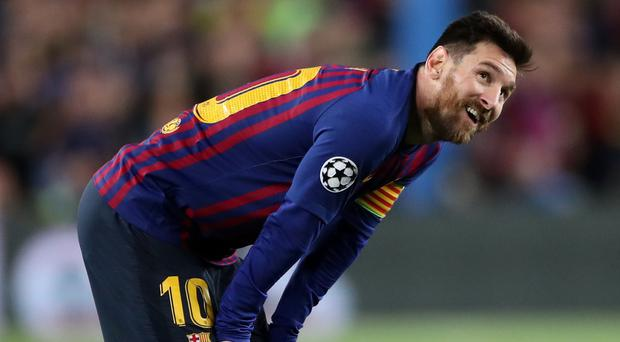 Lionel Messi admits he wanted to leave Barcelona and Spain after being prosecuted over tax issues (Nick Potts/PA)