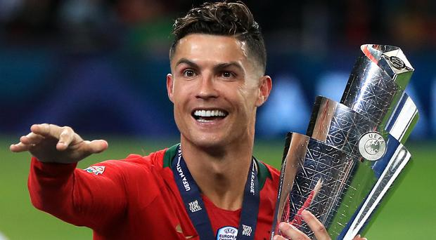 Cristiano Ronaldo wants to be remembered as the greatest ever (Mike Egerton/PA)