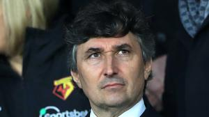 Watford owner Gino Pozzo has promised a change in playing staff following the club's relegation. (Mike Egerton/PA)