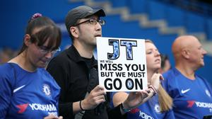 John Terry announced his exit from Chelsea in April 2017 (John Walton/PA)