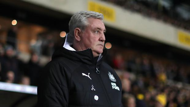 Steve Bruce felt Newcastle deserved their victory (David Davies/PA)