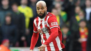 David McGoldrick shared racist abuse which had been sent to him on social media (Anthony Devlin/PA)