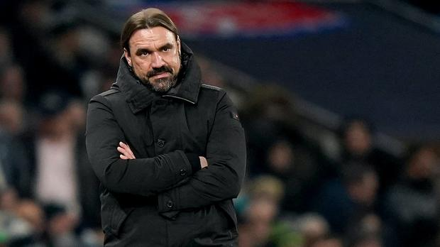 Norwich manager Daniel Farke hopes the Premier League season will restart but only if it is safe to do so (Tess Derry/PA)
