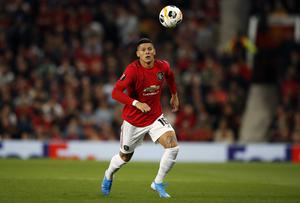 Manchester United defender Marcos Rojo is on loan at Estudiantes (Martin Rickett/PA)