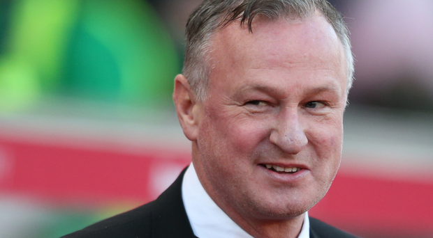 Cool heads: Michael O'Neill