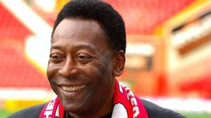 Pele is celebrating his 80th birthday (Rui Vieira/PA)
