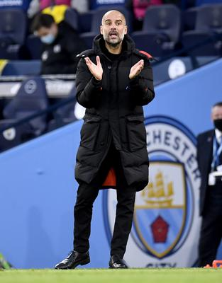 City boss Guardiola insists rotation is not about rest (Peter Powell/PA)