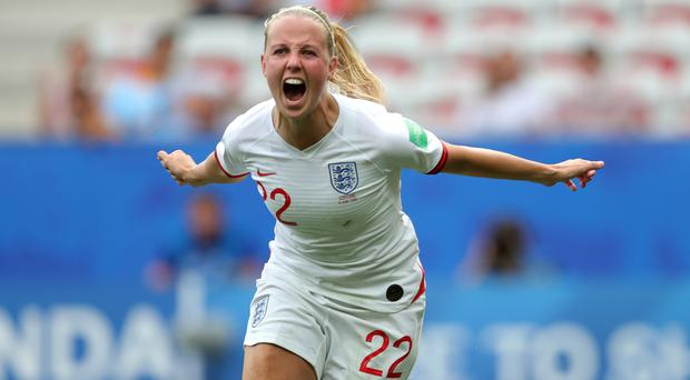 England forward Beth Mead is confident the squad can return fully focused in 2020 (Richard Sellers/PA)