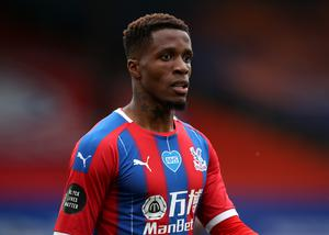 Wilfried Zaha went public on Sunday with the racist messages he received (Peter Cziborra/NMC Pool/PA)