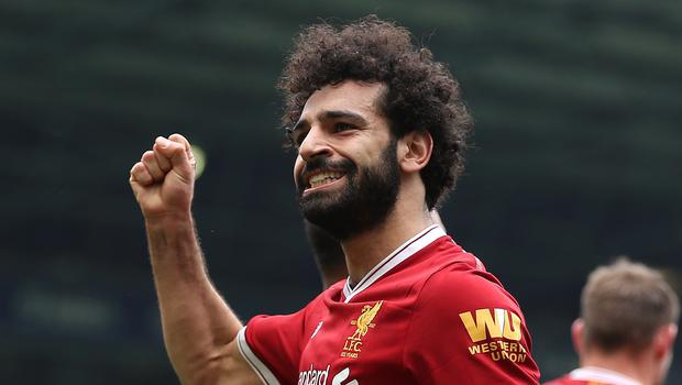 Mohamed Salah has enjoyed a fine season at Anfield (Nigel French/PA)