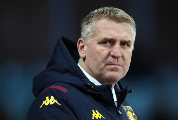 Dean Smith said he had explained to his players they would not travel if quarantine would be required (Nick Potts/PA)
