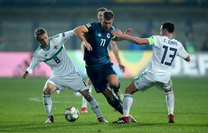 Northern Ireland were beaten home and away by Bosnia in 2018 (Tim Goode/PA)
