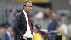 Marco Giampaolo's position is under pressure (AP Photo/Antonio Calanni)