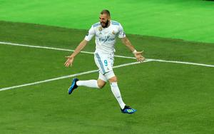 Karim Benzema was on the goal trail on Thursday night (Pete Byrne/PA)