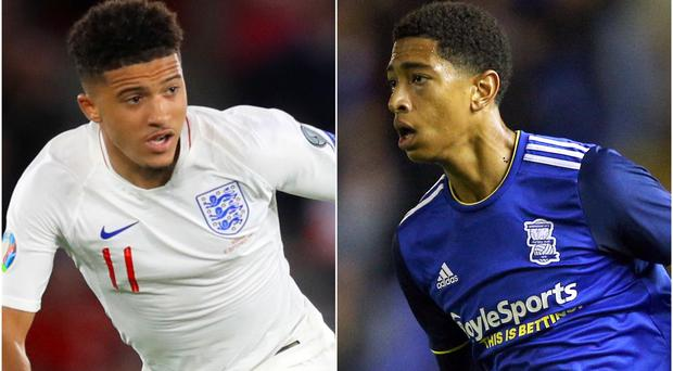 Jadon Sancho and Jude Bellingham have been linked with moves away from their respective clubs (Adam Davy/Nigel French/PA)