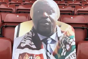 Four-time NBA winner Shaquille O'Neal is a business associate of Cobblers chairman Kelvin Thomas (NTFC)