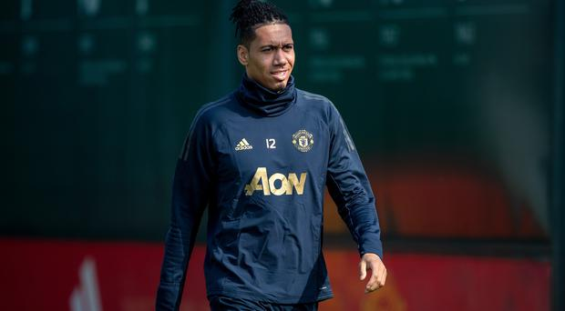 Chris Smalling may not be returning to Manchester United (Ian Hodgson/PA)