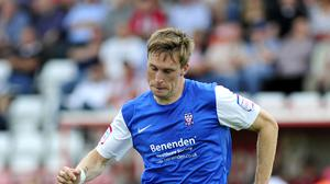 Daniel Parslow was forced to retire as a result of a concussion (PA)