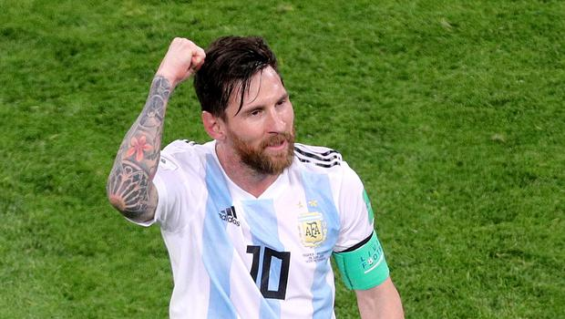 Lionel Messi is expected to be back in action for Argentina when they take on Brazil following his three-month international ban (Owen Humphreys/PA)