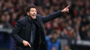 Diego Simeone's side came from behind to beat Villarreal (Nick Potts/PA)