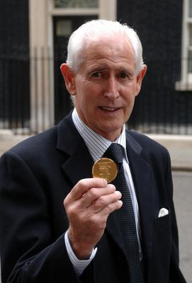 Peter Bonetti finally received a winners' medal from the 1966 World Cup in 2009 (Ian Nicholson/PA).