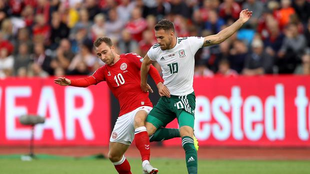 Denmark boss Age Hareide is convinced Christian Eriksen (left) will not be distracted when he lines up against the Republic of Ireland (Tim Goode/PA)