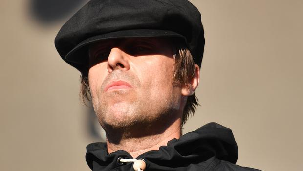 Former Oasis frontman Liam Gallagher's Cardiff concert was watched by members of the Wales football squad (Jacob King/PA)