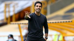 Mikel Arteta has led Arsenal to wins against Liverpool and Manchester City in the last week. (Michael Steele/NMC Pool)