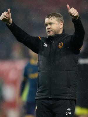 Would leaving Hull be a wrench for Grant McCann? (Nigel French/PA)