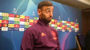 Bruno Fernandes was surprised to learn he will captain Manchester United at PSG (Simon Peach/PA)