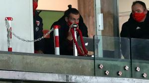 Gareth Bale was in the stands for the friendly between Wales and the United States (David Davies/PA)