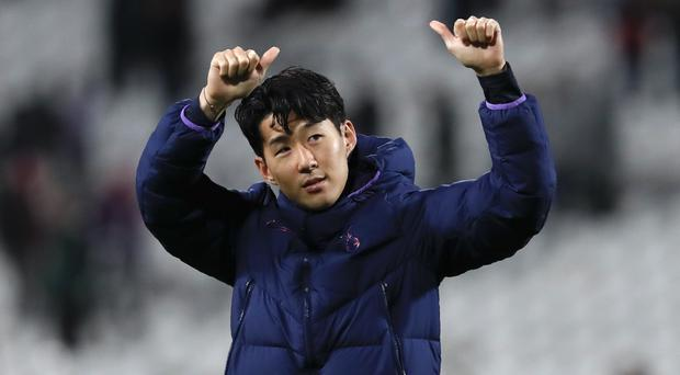 Son Heung-min has exchanged messages with Andre Gomes (Darko Vojinovic/AP)