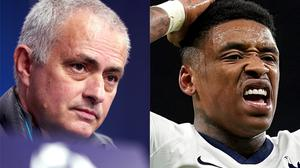 Jose Mourinho (left) believes Steven Bergwijn's injury will keep him out for the rest of the campaign (John Walton/PA)
