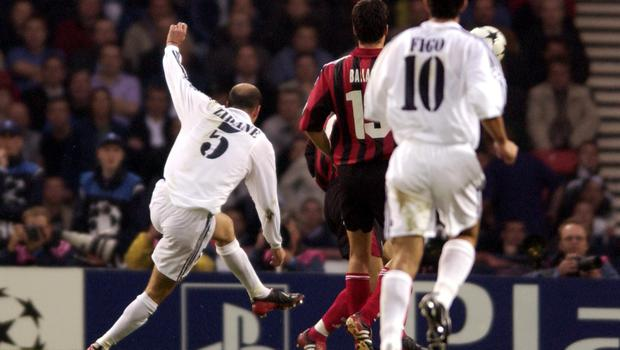 Zidane unleashes his unstoppable volley