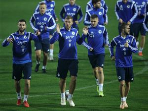 Bosnia and Herzegovina are in line to host a play-off semi-final (Tim Goode/PA)