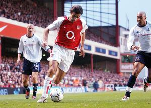 Robert Pires relished his north London derby clashes (Sean Dempsey/PA)