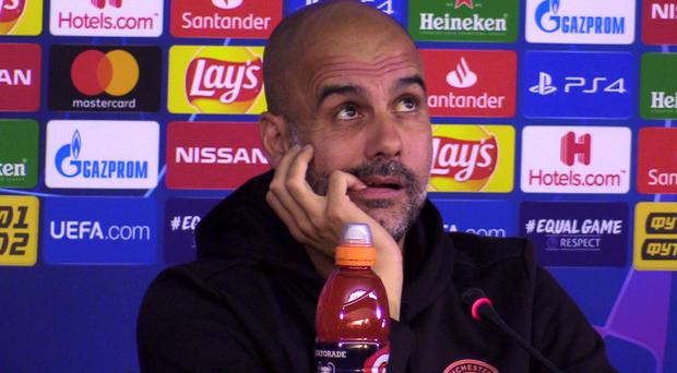 Manchester City boss Pep Guardiola has not won the Champions League since he was manager of Barcelona (Andy Hampson/PA)