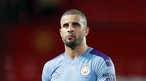 Kyle Walker has apologised after breaching restrictions. (PA)