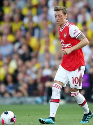 Mesut Ozil has been left at home by Arsenal (Nick Potts/PA)