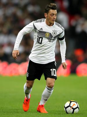 Ozil retired from international football with Germany amid controversy (Nick Potts/PA)