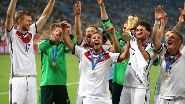 Germany won the World Cup in 2014 (Mike Egerton/PA)