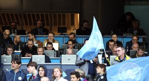 Press boxes will be restricted to 25 written journalists (Martin Rickett/PA)