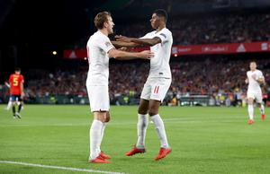 Harry Kane and Marcus Rashford are two of England's options up front (Nick Potts/{PA)